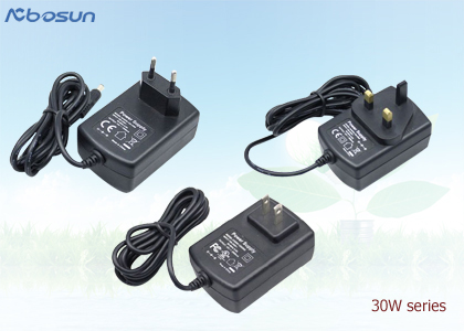 100-240 ac 5v 7.5v 9v 12v dc power adaptor 30w plug in/desktop connection with Safety Standard