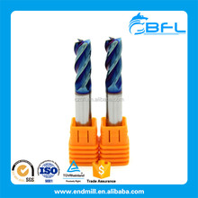 BFL Cemented Carbide Square End Milling Cutters For CNC