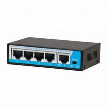 100Mbps Passive POE switch 5port 24v <strong>injector</strong>