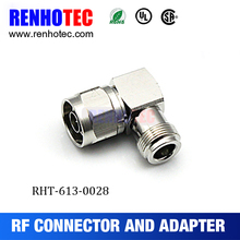 2017 hot N Jack connector to N Plug connector adapter right angle for cable