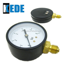 bourdon tube 50mm dial bottom pressure gauge