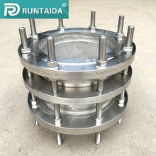 High quality double flange stainless steel pipe fitting dismantling joint
