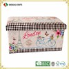 Wholesale Storage Vintage Mdf Flower Pattern