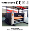 TS chain feeder corrugated carton paperboard flexo printing slotting die cutting machine with CE