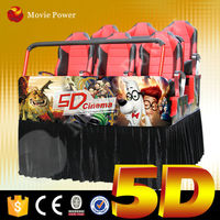 Europe popular game 5d cinema simulator with special effects