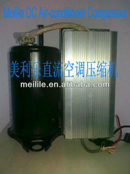 DC air-conditioner rotary compressor 24V/48V