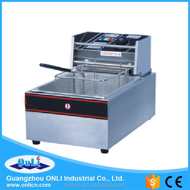 commercial electric deep fryers machine for chiken and chip