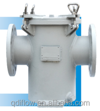 DOUBLE FLANGED STEEL SEAWATER FILTER