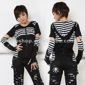 Unisex KERA punk VISUAL Hoodie T-shirt TOP 71181