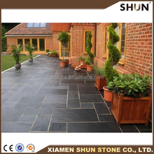 Slate, Culture stone, Flagstone/Outdoor Slate Stepping Stones For Sale/Irregular Shaped Slate Tile
