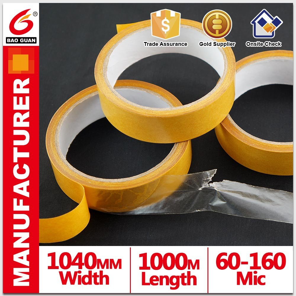 Durable High Quality Waterproof Sticky Adhesive Carpet Double Side Tape