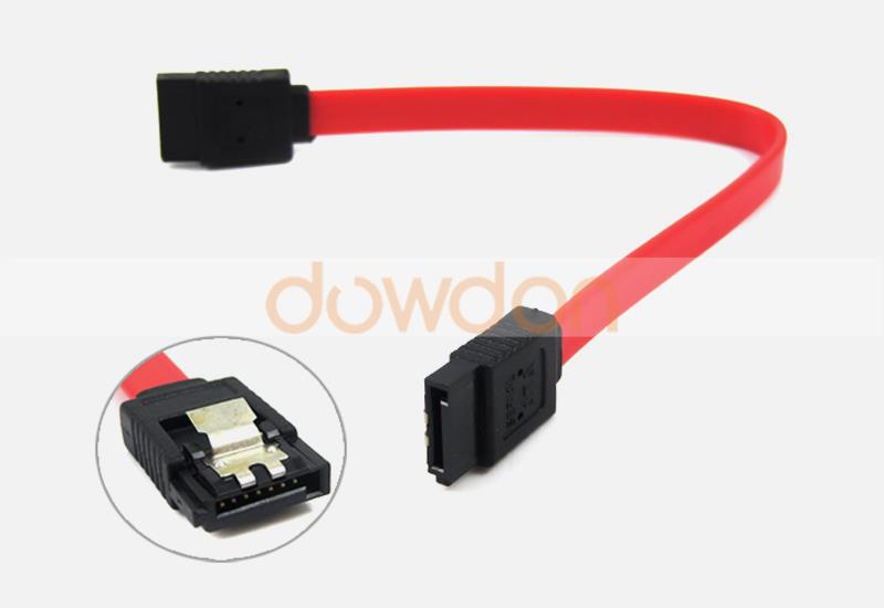 PC HDD Main Board 15/20/50CM Blue Red 7 Pin Sata Female Data Cable