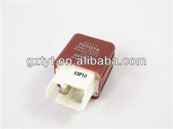 Toyota Car 12V Relay 90987-02006 4 Pins