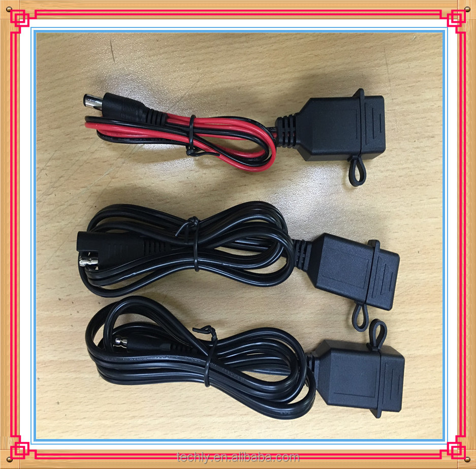 Standard 2.0 USB Motorcycle Direct To SAE Plug TO DC Charging Cable