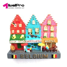Hot Brussels Belgium Grand Place Manneken-Pis Statue 3D Fridge Magnet Travel Souvenir Refrigerator Magnetic Stickers