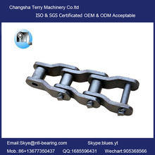 Heavy Duty Cranked Link Transmission Chains Industrial Chain Roller Chain3214