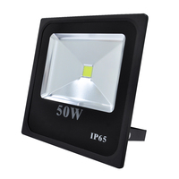 50w COB slim led flood light outdoor with waterproof ip65 led flood light for outdoor use