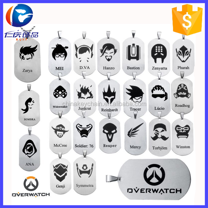 Hot Styles Anime Overwatch Anime Necklace