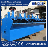 Large capacity Beneficiation machine / flotation separator for non- ferrous metal