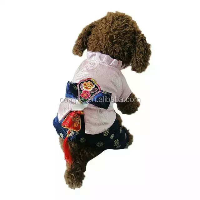 Manufacturers of Primary Sources Abundant in Stock Hanbok Lovers Dog Thickened Warm Pet Suits