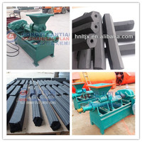 High quality low consum charcoal rod briquette making machineption charcoal rod extruding machine