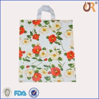 Die-Cut Printed Plastic Retail Shopping Bags/ handle bag (LDPE)