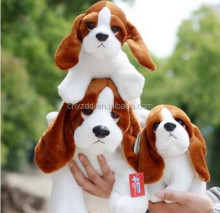 personalized plush stuffed animal dog toy with big ear/stuffed plush dog toys with cheaper price