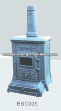 solid fuel iron casting pellet stove