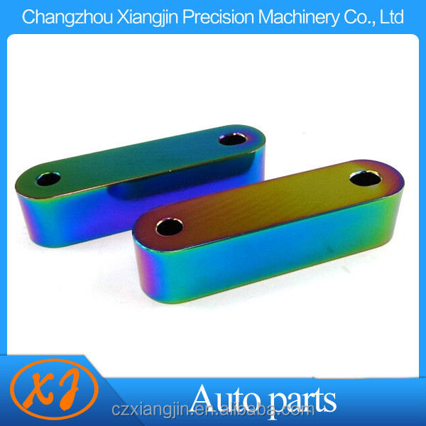 Japanese Car European car Universal hood spacer riser vent kit with various anodized color