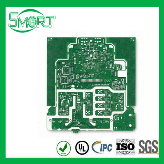Smart Bes ! high quality ! Double-sided crt color tv pcb board with Immersion Gold Surface Finish and 10 to 300V Test Voltage