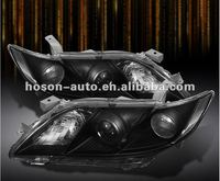 07-09 Toyota Camry Projector Headlights Head Lamps Assembly