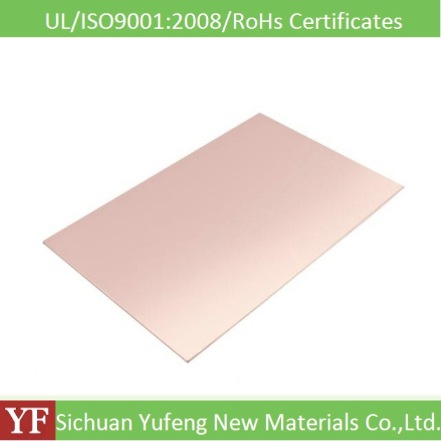 factory sale good mechanical property 1.0mm fr4 copper clad laminated