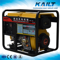 5kw small diesel portable generator AVR with price