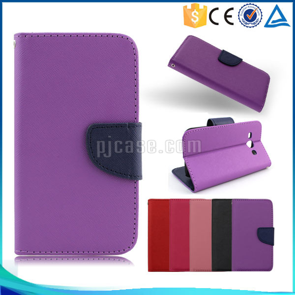 Best quality mix color wallet style flip leather case cover for acer liquid z530
