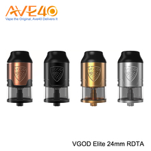 New Trend 2017 Electronic Cigarette Atomizer Express VGOD Elite RDTA Tank With Four Optional Color