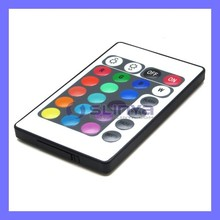 24 Keys IR LCD Display Remote Controller For RGB LED Lights
