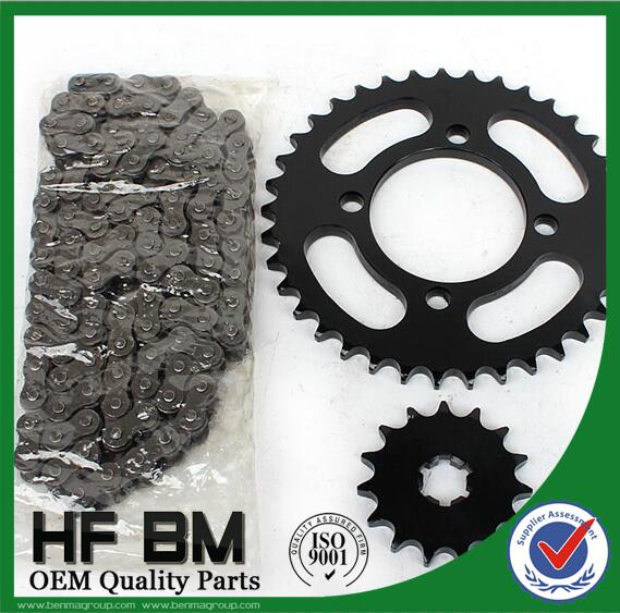 CG125 factory sale motorcycle timing chain, sprocket high precision