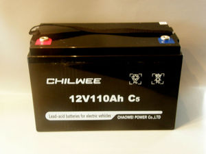GEL TRACTION BATTERIES FOR CYCLIC WORK 12V 110AH