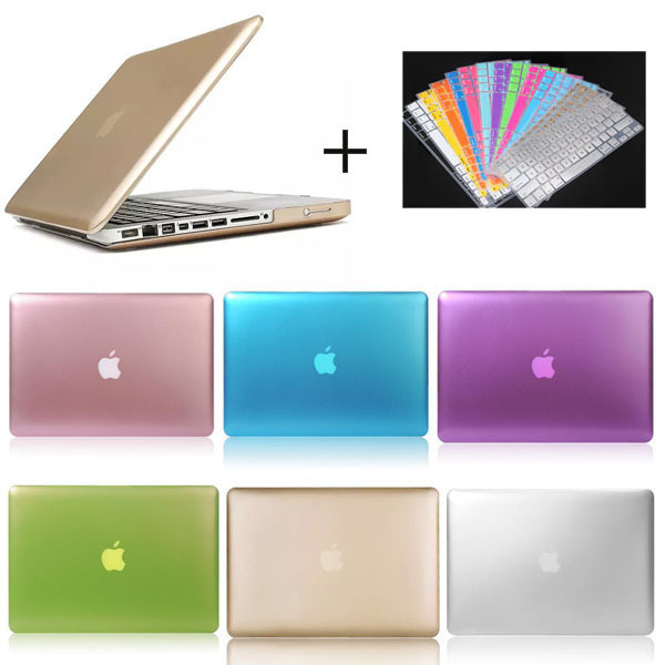 Crystal clear crystal hard case for macbook pro+keyboard protector