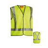 Reflective Taped Security Vest High Visibility