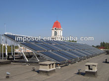 big project non pressure solar collector tons