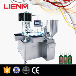Guangzhou Automatic Pet Or Liquid Bottle Filling Machine With Capper