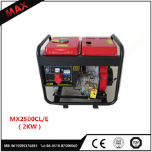 Engine Model 170f Factory Price Diesel Generator 2000watt 4-Stroke