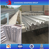 Hot Dipped Galvanization Steel Road Safety Guardrail