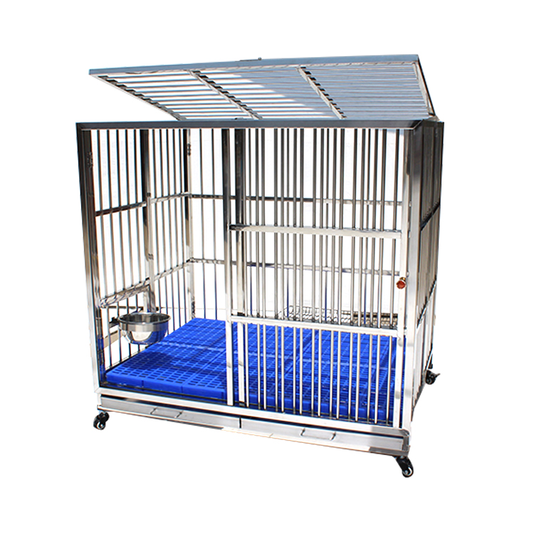 Custom Cheap Promotional Folding Metal Stainless Steel Dog Crate