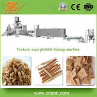 Hot china products wholesale Low electric cost professional texture soya bean protein plant/machinery