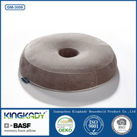 2015 New Round Shape Memory Foam Seat Cushion For Lounger