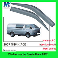Styling window visor for toyota hiace 07 import car accessories