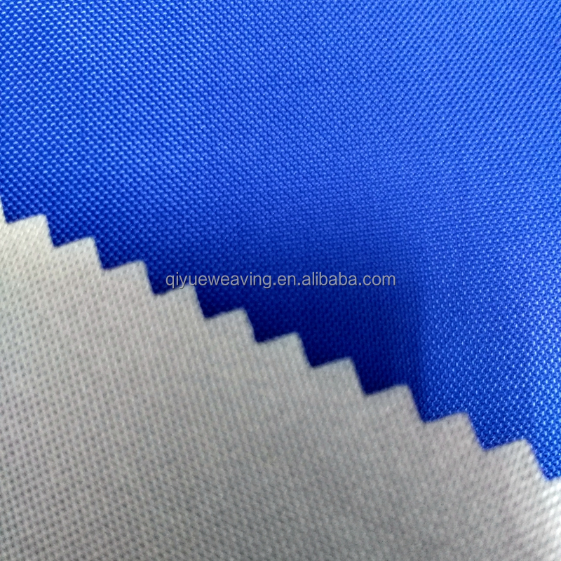 QY-S1221#210d polyester oxford tent fabric by the yard 100% polyester microfiber fabric with water proof