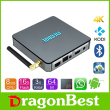 2017 Hot sales Mecool BB2 Pro S912 3G 16G android tv box install free play store app with low price KODI 17.0 TV Box